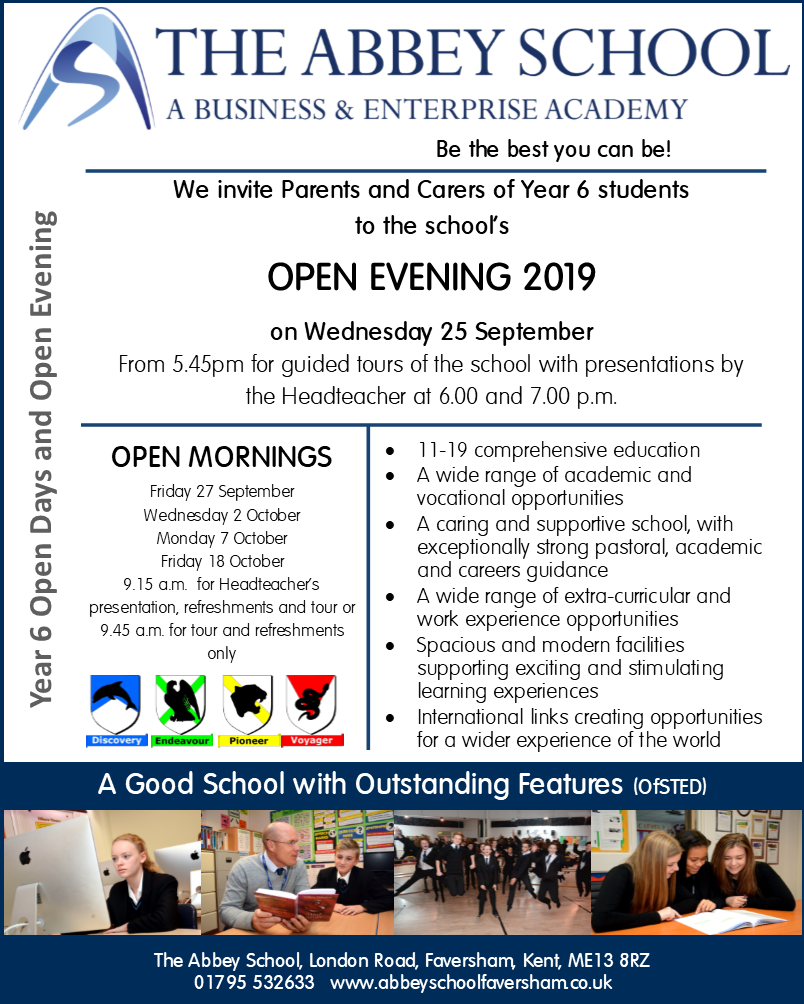 2019 year 6 parent flyer