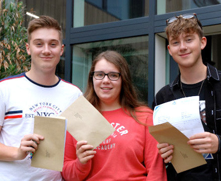 A levels results gallery.1