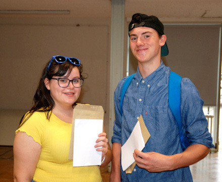 A levels results gallery.2